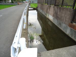 農業用水路改良工事(西大井排水路)のその後について1