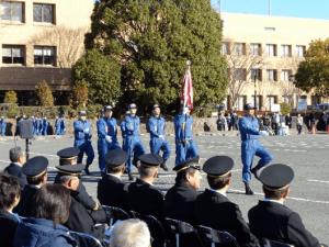 2018年1月12日 大井町消防出初式