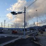 紫水大橋大井町側の水銀灯について