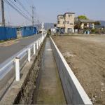 西大井排水路工事 改修後